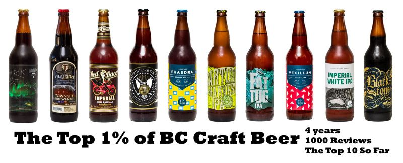 The Top 1 Percent of BC Craft Beer