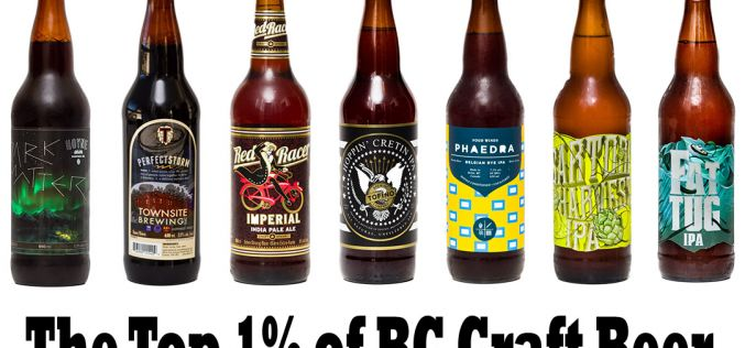 1000 Bottles of Craft Beer On The Wall – The Top 1% of all BC Craft Beer