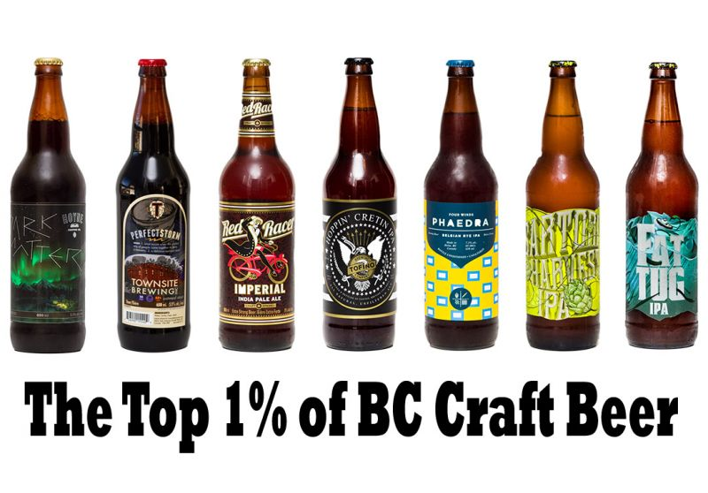 Top 1 Percent of BC Craft Beer