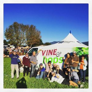 Vine & Hops Tour Group with Van