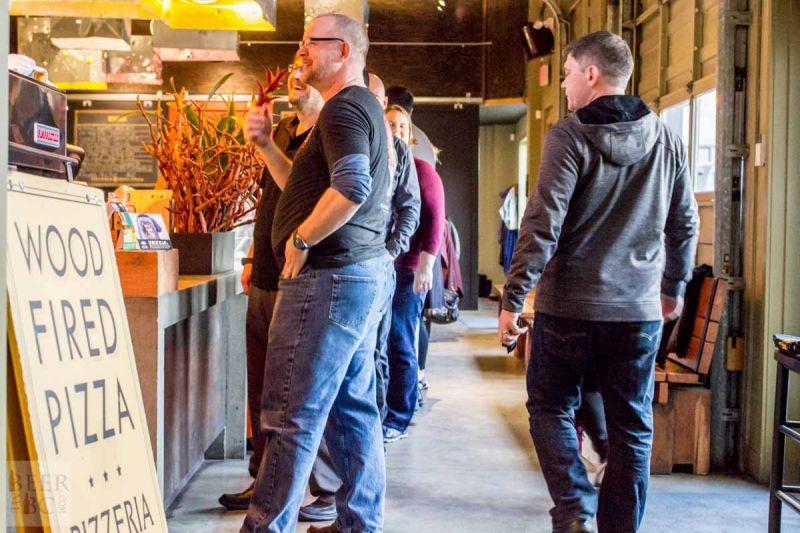 Victoria Beer Week 2016 Beer Pizza and More Beer Waiting for Beer