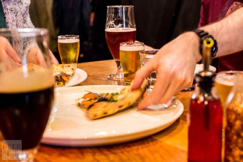 Victoria Beer Week 2016 Beer Pizza and More Beer Quickly Devoured