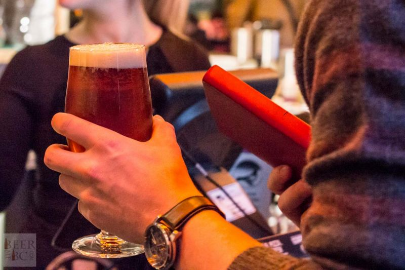 Victoria Beer Week 2016 Beer Pizza and More Beer Grabbing a Pint