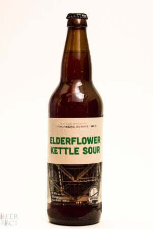 Bridge Brewing Elderflower Kettle Sour Bottle