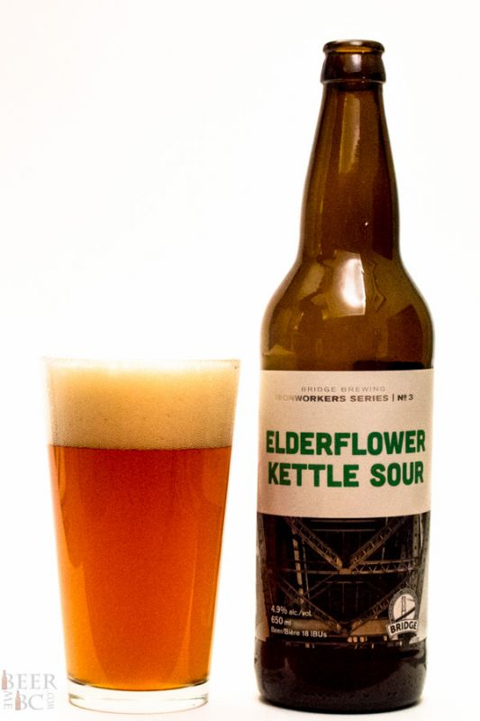 Bridge Brewing Elderflower Kettle Sour