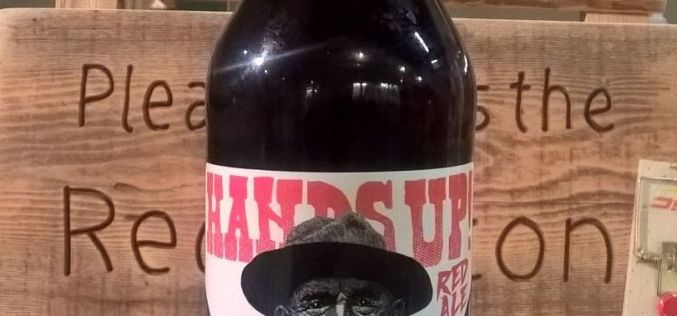 The Hands Up Red Ale, A New Tin Whistle Beer Release