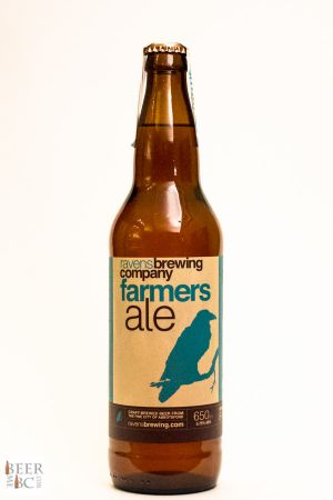 Ravens Farmers Ale Bottle