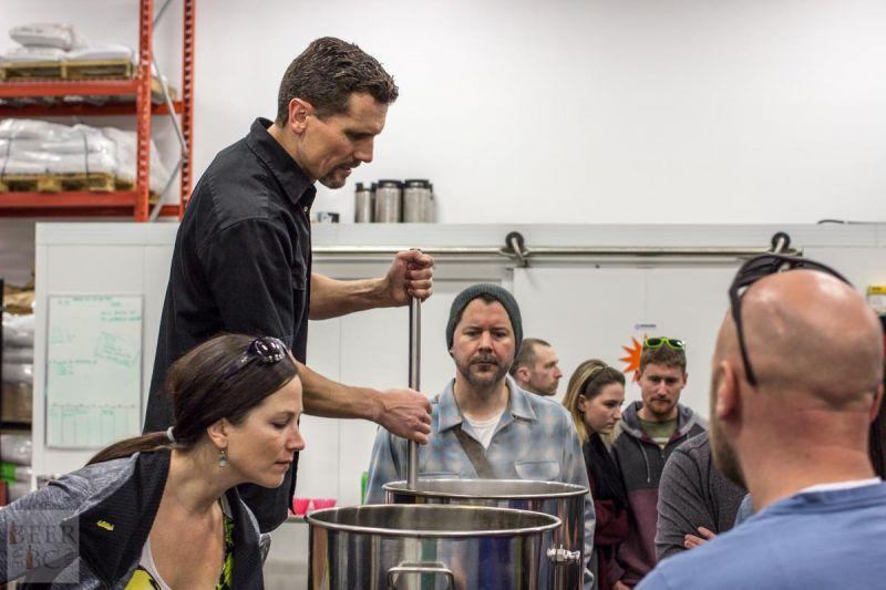 Victoria Beer Week Home Brewing Workshop Boiling the Water