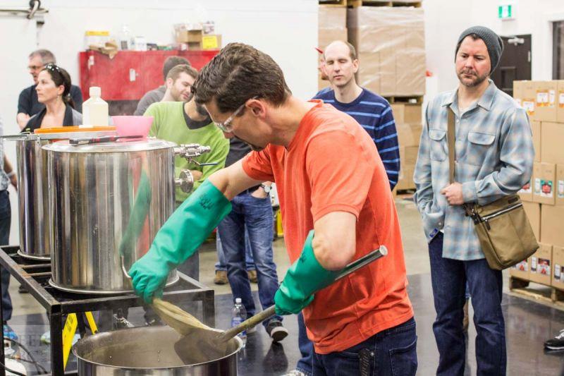 Victoria Beer Week Home Brewing Workshop Removing the Hops