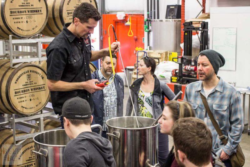 Victoria Beer Week Home Brewing Workshop Taking the Temperature