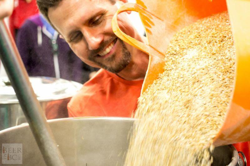Victoria Beer Week Home Brewing Workshop Adding More Grain