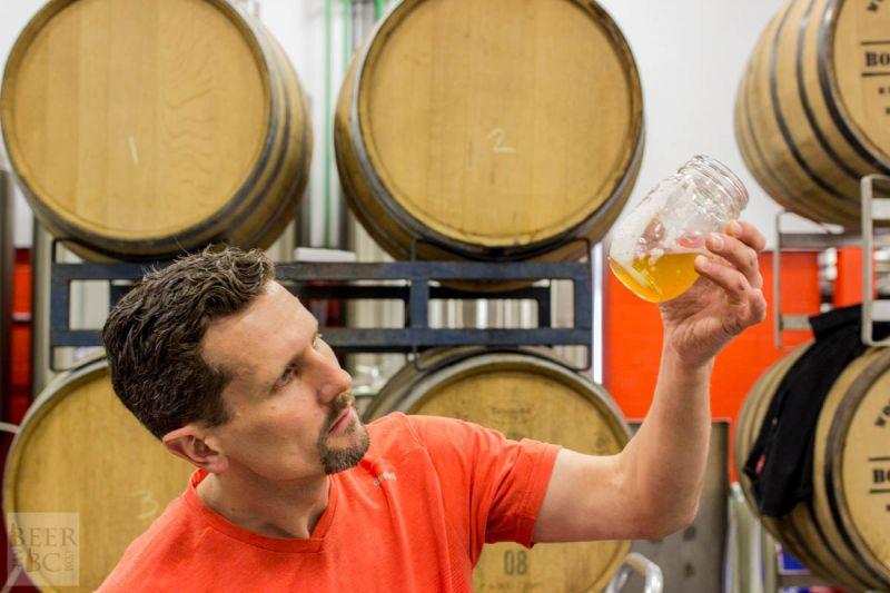 Victoria Beer Week Home Brewing Workshop Checking Wort Clarity