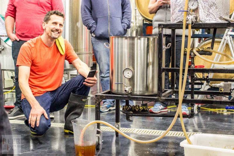 Victoria Beer Week Home Brewing Workshop Adjusting the Flow