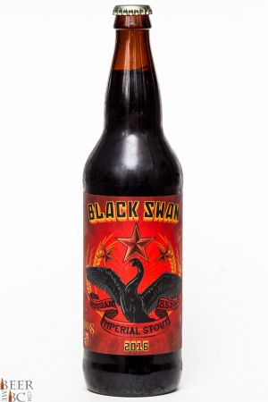 Swans Brewery Black Swan Russian Imperial Stout Review