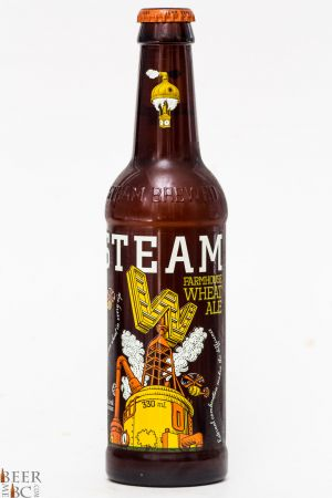 Steamworks Brewing Farmhouse Wheat Ale Review