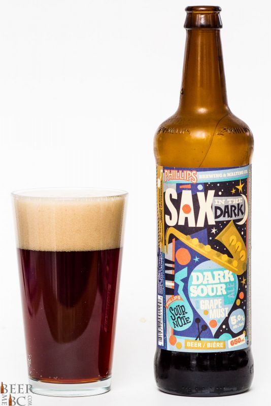 Phillips Brewing Sax In The Dark Sour Ale Review