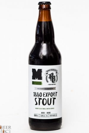 Moody Ales & Ridge Brewing 1860 Export Stout Review
