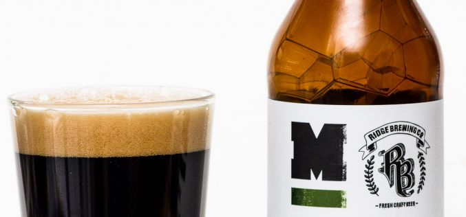 Moody Ales & Ridge Brewing – 1880 Export Stout