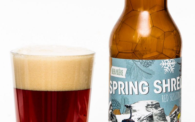 Fernie & Whistler Brewing – Spring Shred Red Session Ale