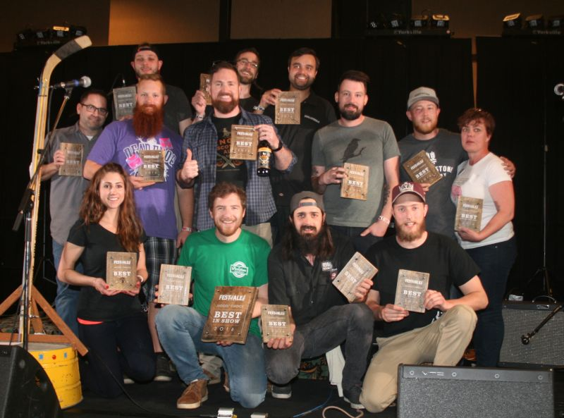 2016 Okanagan Fest Of Ale Award Winners