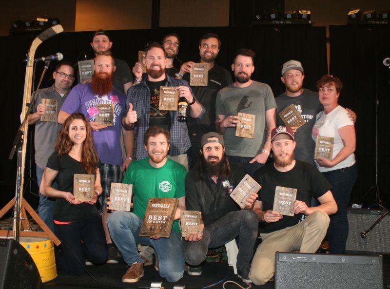 2016 Okanagan Fest Of Ale Award Winners