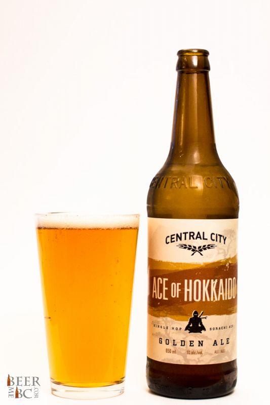 Central City Brewing Hokkaido Golden Ale