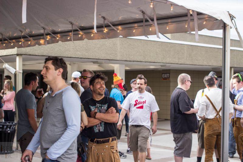 Okanagan Fest of Ale 2016 Crowd 2