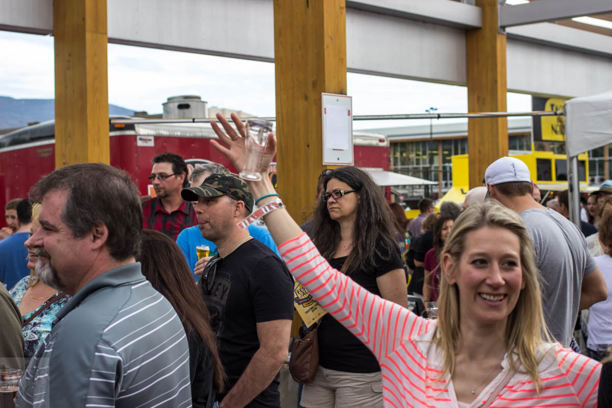 Okanagan Fest of Ale 2016 Crowd 3
