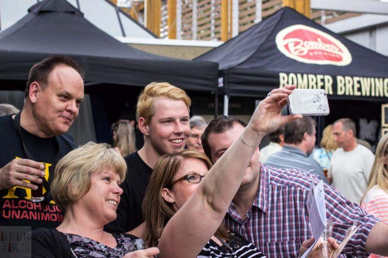 Okanagan Fest of Ale 2016 Selfie Takers