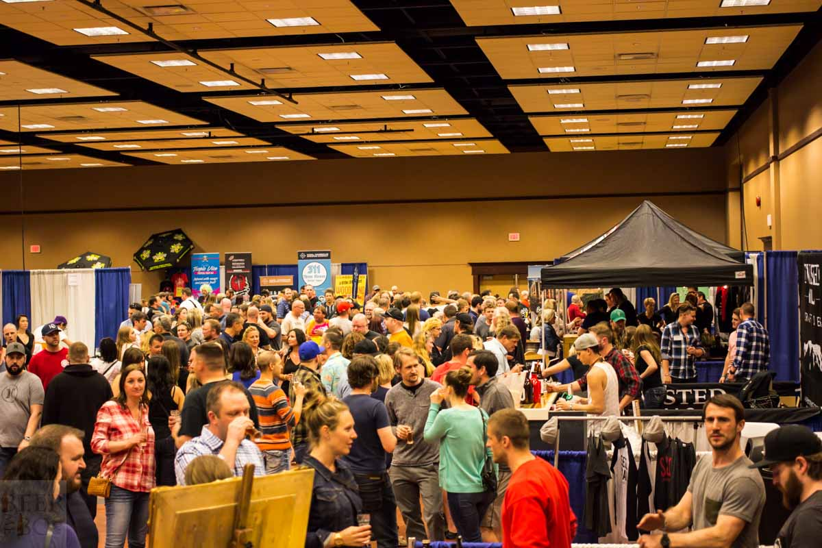 Okanagan Fest of Ale 2016 Interior Crowd