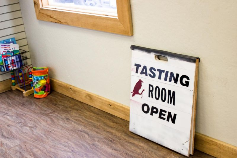 Ravens Brewing Company - Tasting Room Sign