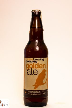 Ravens Brewing Golden Ale Bottle