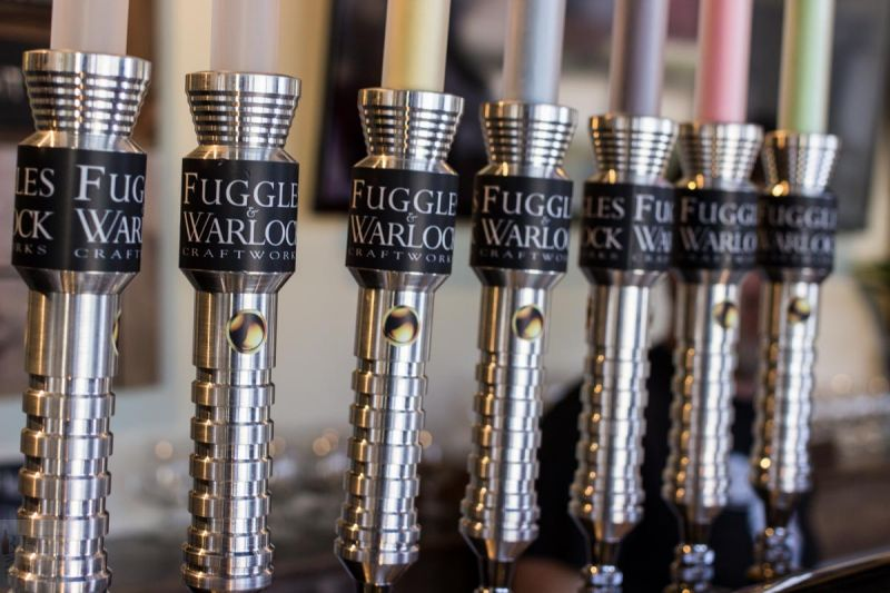 Vine and Hops Fuggles and Warlock Taps
