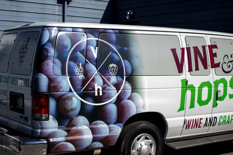 Vine and Hops Van