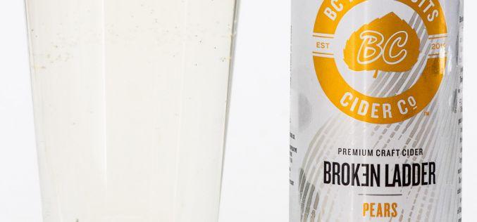 BC Tree Fruits Cider Co. – Broken Ladder Pears Apple Cider