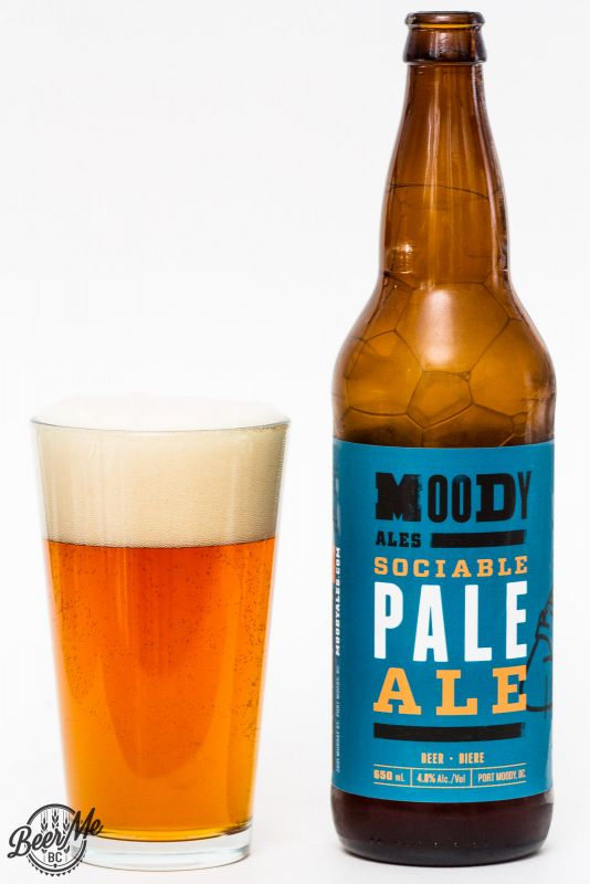 Moody Ales - Sociable Pale Ale Review