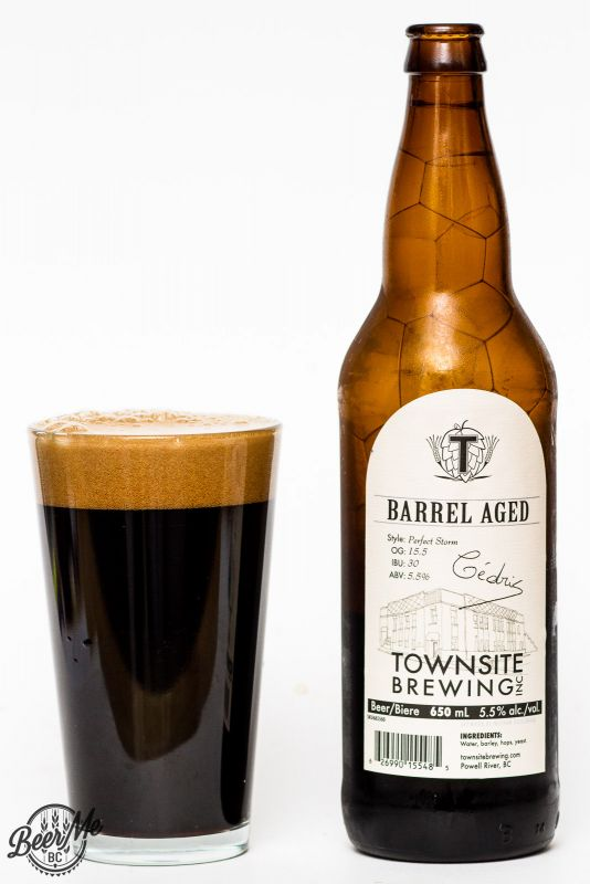 Townsite Brewing Barrel Aged Perfect Storm Stout Review