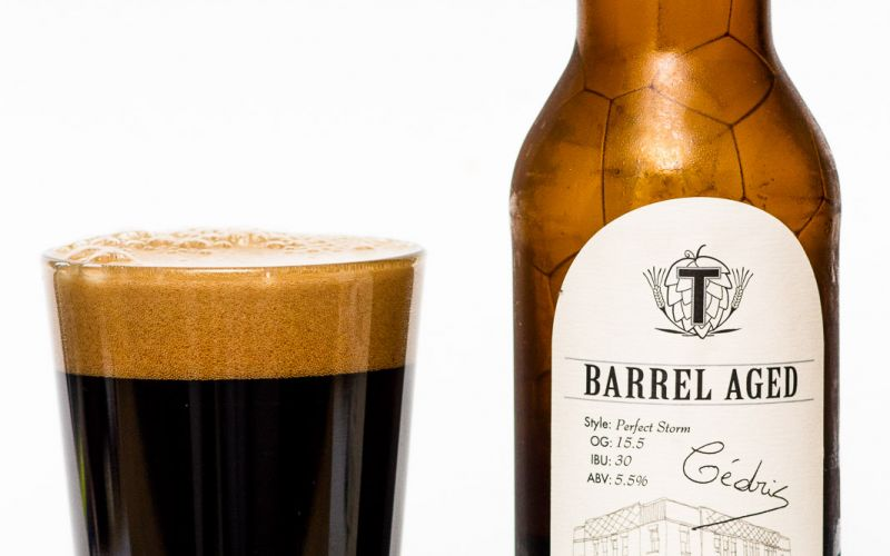 Townsite Brewing Inc. – Barrel Aged Perfect Storm Oatmeal Stout