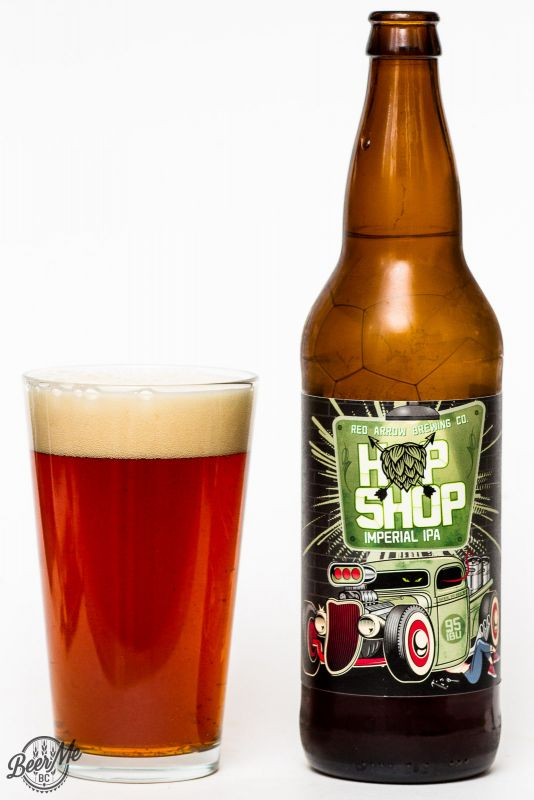 Red Arrow Brewing Hop Shop Imperial IPA Review