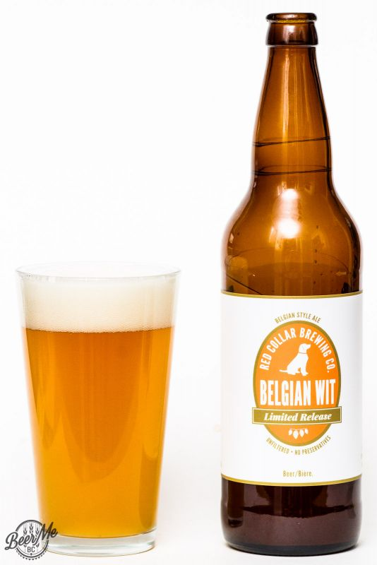 Red Collar Brewing Belgian Witbier Review