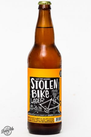 R&B Brewing Stolen Bike Lager Review