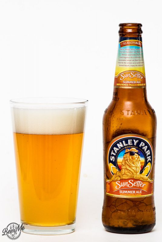 Stanley Park Brewery - Sun Setter Summer Peach Ale Review