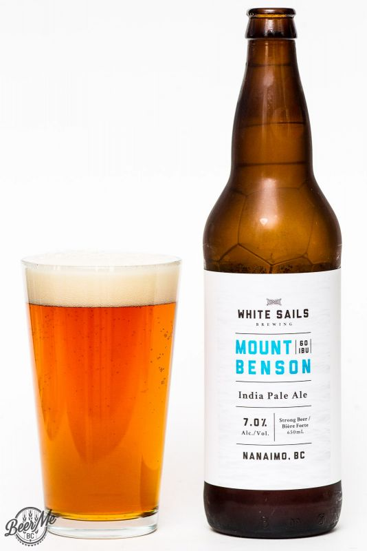 White Sails Brewing - Mount Benson IPA Review