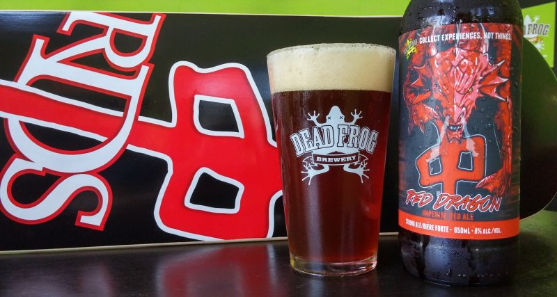 Dead Frog Red Dragon Imperial Red Ale 2