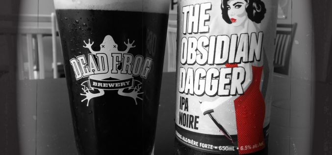 The Obsidian Dagger Returns For 2016 from Dead Frog Brewing