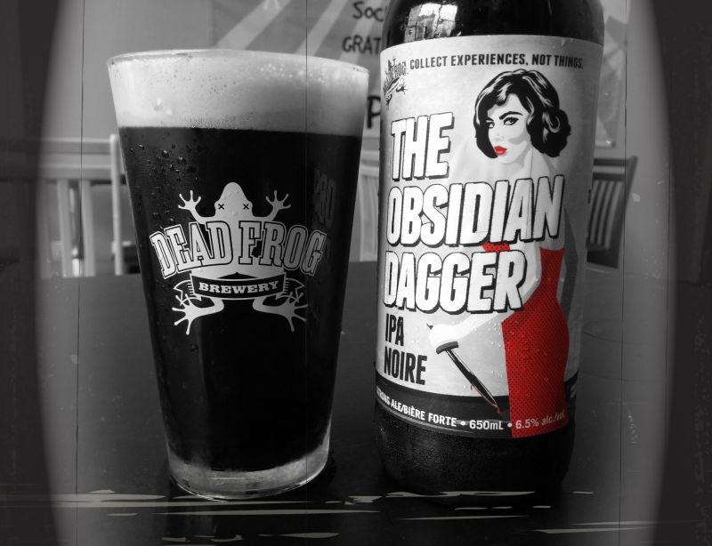 Obsidian Dagger IPA Noire