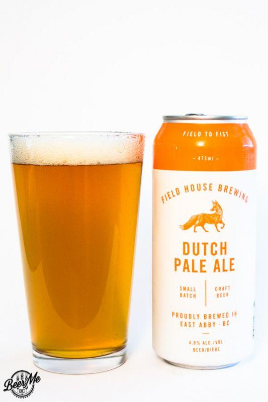Fieldhouse Brewing Dutch Pale Ale