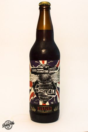 Mission Springs God Save the Queen Honey Ale Bottle