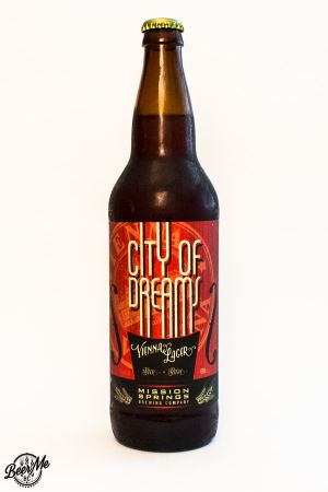 Mission Springs Brewing Company City of Dreams Vienna Lager Bottle