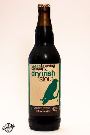 Ravens Brewing Dry Irish Stout Bottle
